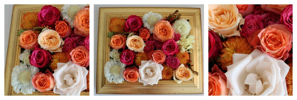 Event Flowers: Floral Frame - Florist based in Woodford Green, Essex.
