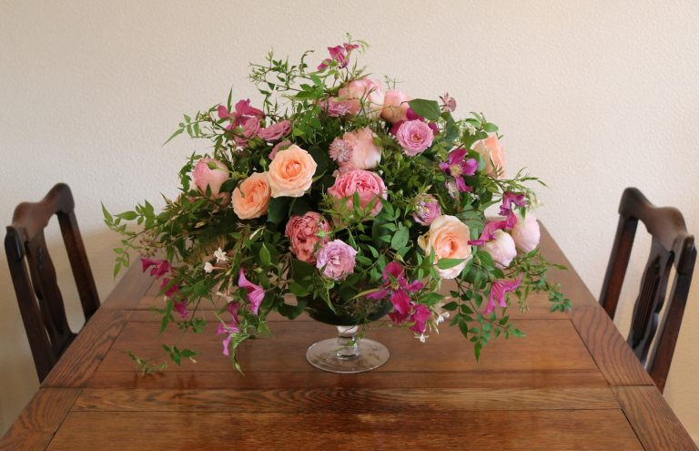 Event Flowers: Centrepiece - Florist based in Woodford Green, Essex.