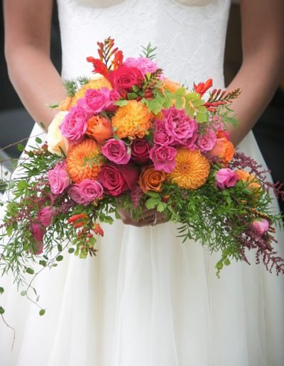 Wedding Flowers - The Colourful Wedding